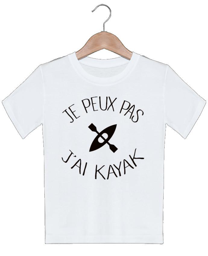 T-shirt garçon motif Je peux pas j'ai kayak Freeyourshirt.com
