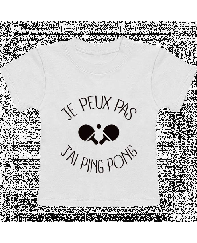 T-Shirt Bébé Manches Courtes je peux pas j'ai Ping Pong manches courtes du designer Freeyourshirt.com