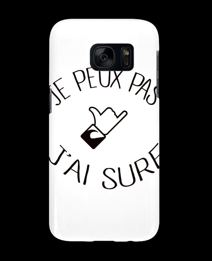 Coque 3D Samsung Galaxy S7 Je peux pas j'ai surf par Freeyourshirt.com