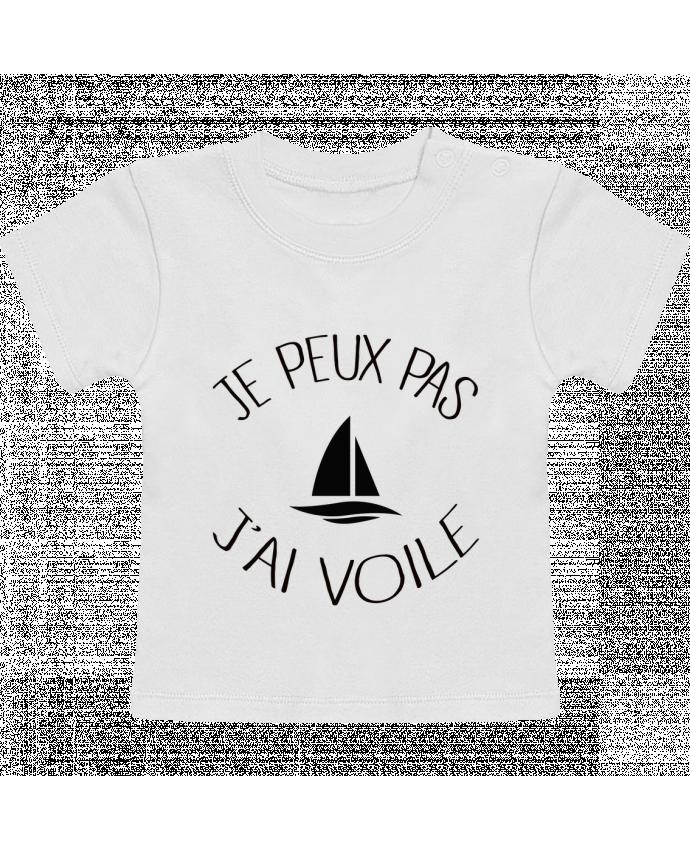 T-Shirt Bébé Manches Courtes Je peux pas j'ai voile manches courtes du designer Freeyourshirt.com
