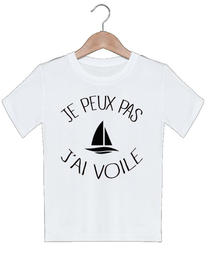 T-shirt garçon motif Je peux pas j'ai voile Freeyourshirt.com