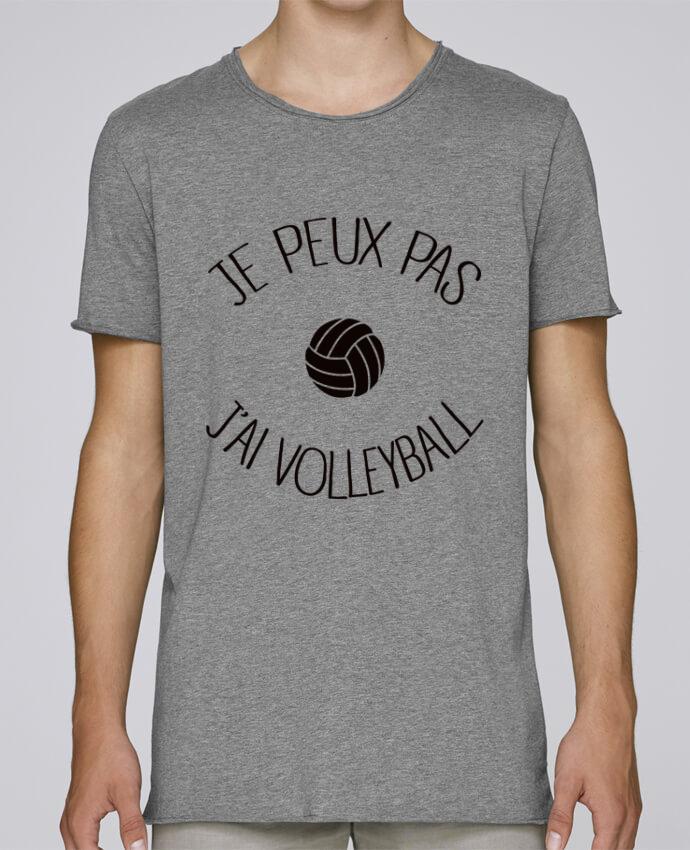 T-shirt Homme Oversized Stanley Skates Je peux pas j'ai volleyball par Freeyourshirt.com