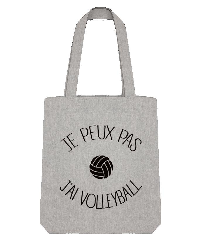 Tote Bag Stanley Stella Je peux pas j'ai volleyball par Freeyourshirt.com