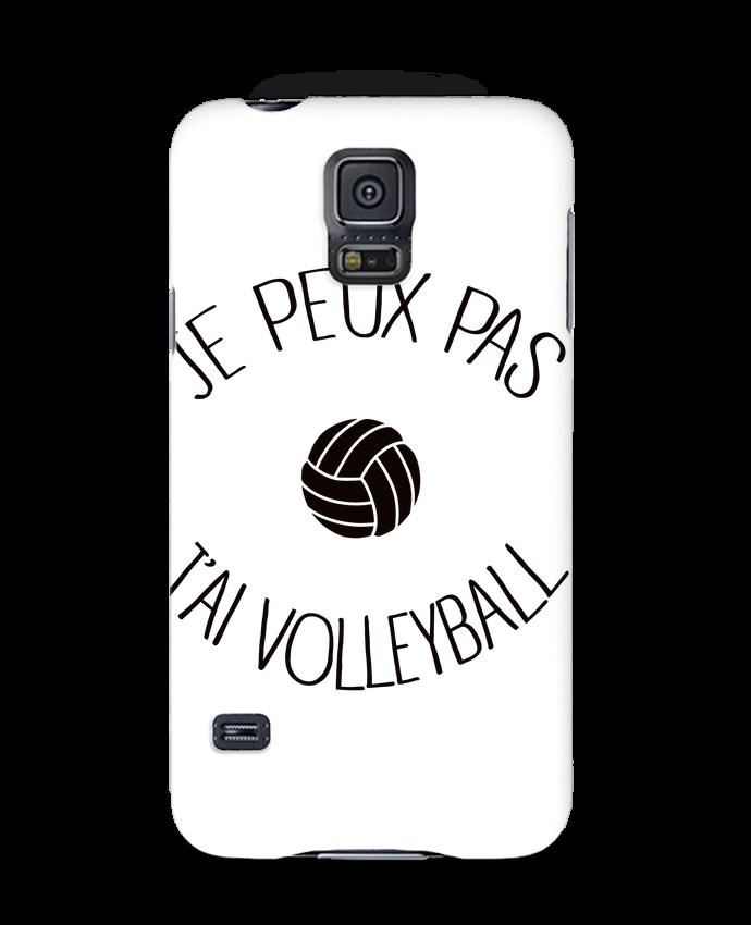 Coque 3D Samsung Galaxy S5 Je peux pas j'ai volleyball par Freeyourshirt.com