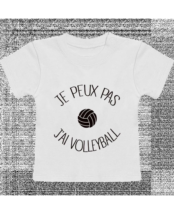 T-Shirt Bébé Manches Courtes Je peux pas j'ai volleyball manches courtes du designer Freeyourshirt.com