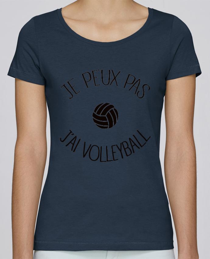 T-shirt Femme Stella Loves Je peux pas j'ai volleyball par Freeyourshirt.com