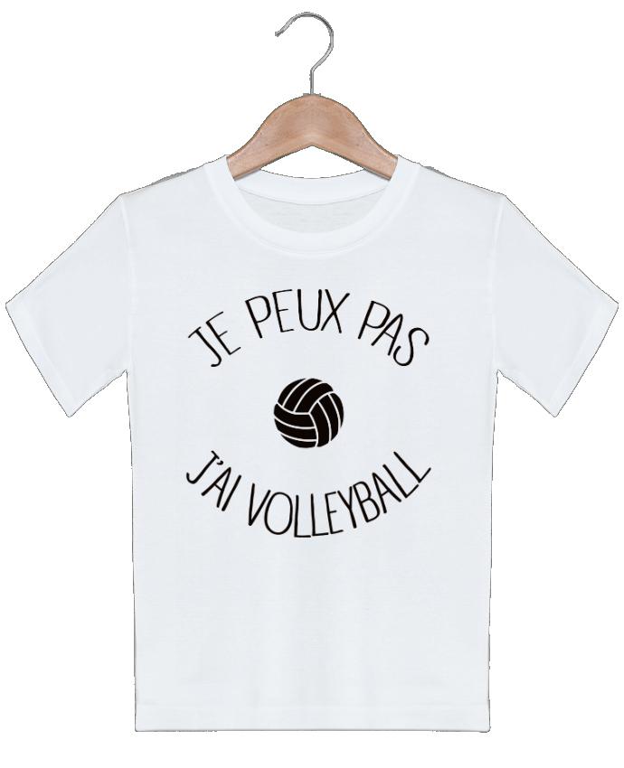 T-shirt garçon motif Je peux pas j'ai volleyball Freeyourshirt.com