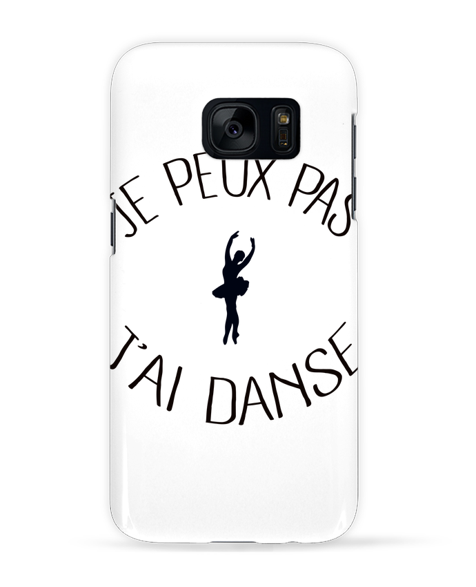 Coque 3D Samsung Galaxy S7  Je peux pas j'ai Danse par Freeyourshirt.com