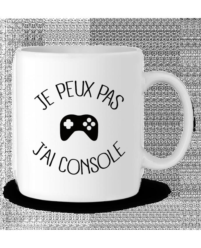 Mug en Céramique Je peux pas j'ai Console par Freeyourshirt.com