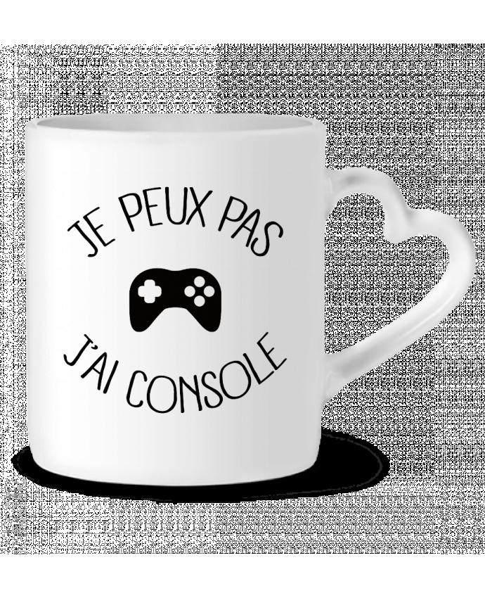 Mug Coeur Je peux pas j'ai Console par Freeyourshirt.com