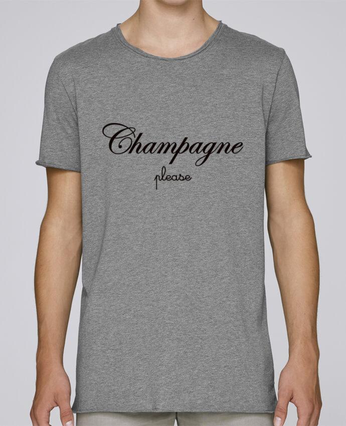 T-shirt Homme Oversized Stanley Skates Champagne Please par Freeyourshirt.com