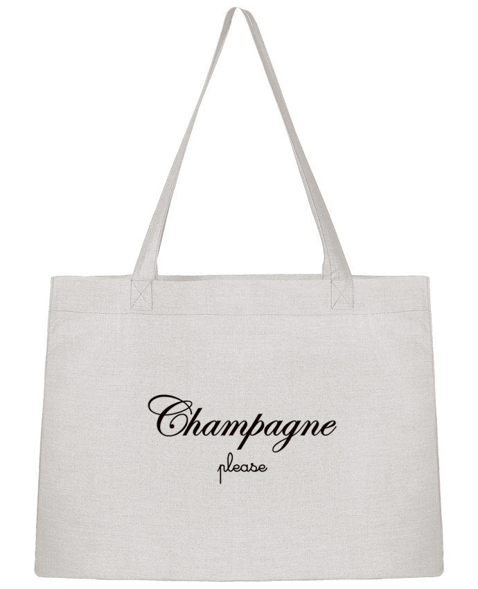 Sac Cabas Shopping Stanley Stella Champagne Please par Freeyourshirt.com