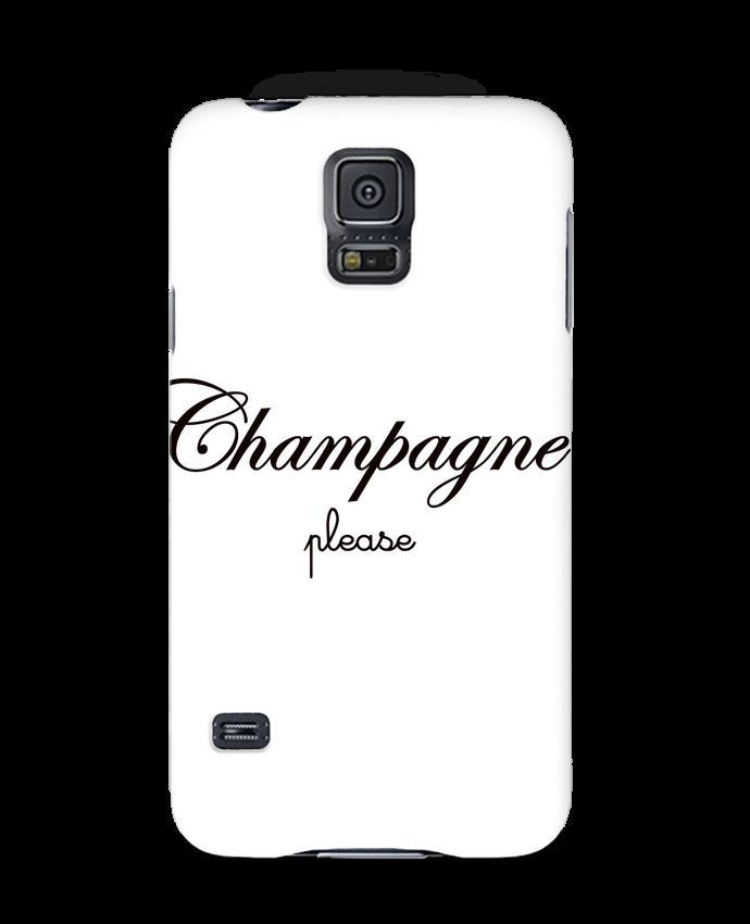 Coque 3D Samsung Galaxy S5 Champagne Please par Freeyourshirt.com