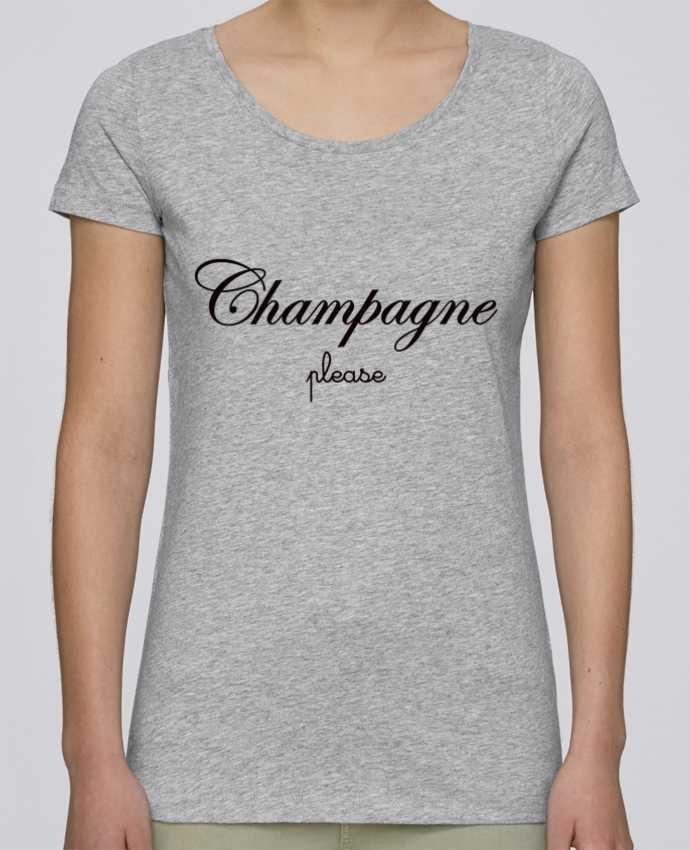 T-shirt Femme Stella Loves Champagne Please par Freeyourshirt.com