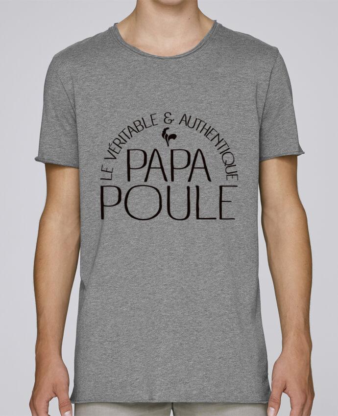 T-shirt Homme Oversized Stanley Skates Papa Poule par Freeyourshirt.com
