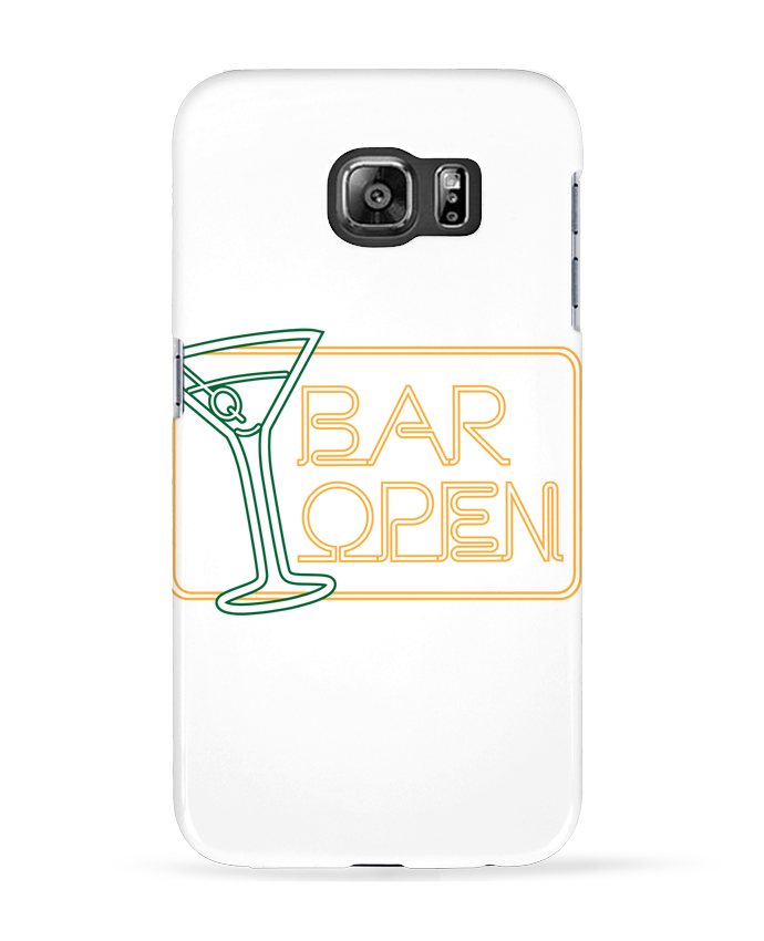 Coque 3D Samsung Galaxy S6 Bar open - Freeyourshirt.com