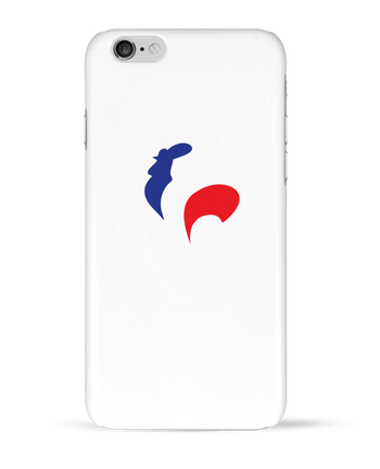 Coque 3D Iphone 6 France et Coq par Freeyourshirt.com