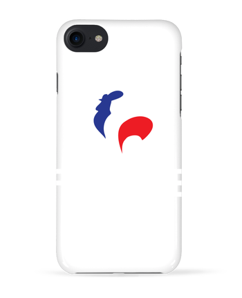 Coque 3D Iphone 7 France et Coq de Freeyourshirt.com