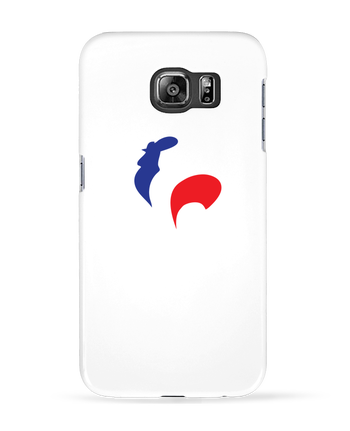 Coque 3D Samsung Galaxy S6 France et Coq - Freeyourshirt.com