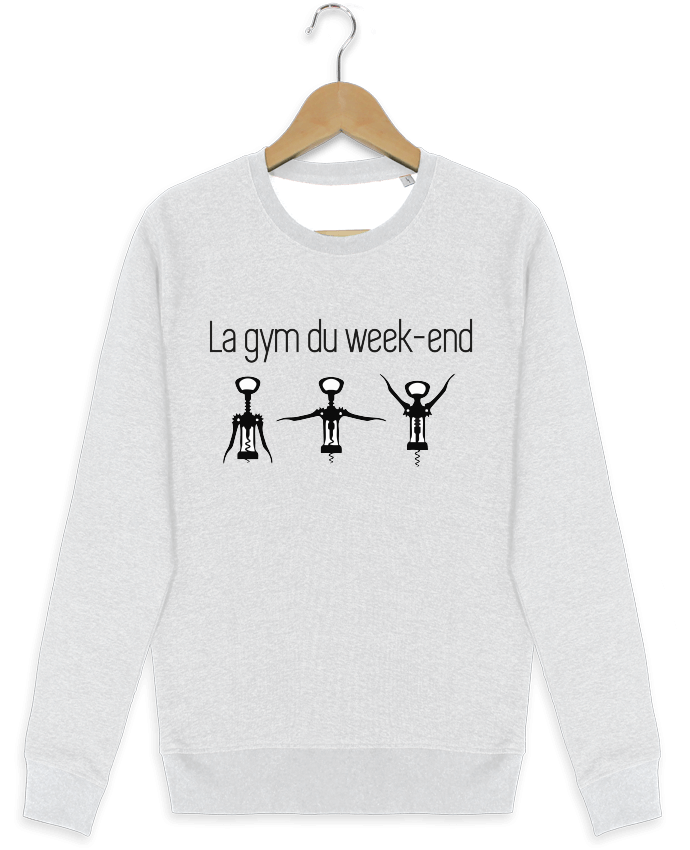 Sweat-shirt Stanley stella modèle seeks La gym du week-end par Benichan