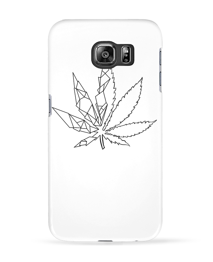 coque galaxy s6 feuille
