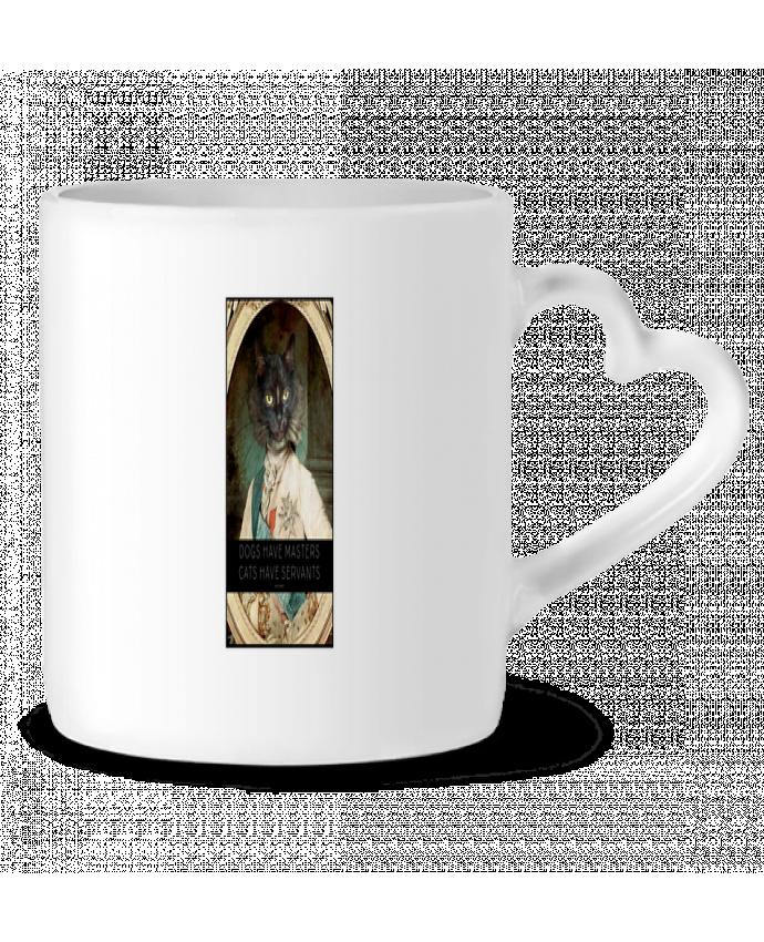 Mug Coeur King Cat par Tchernobayle