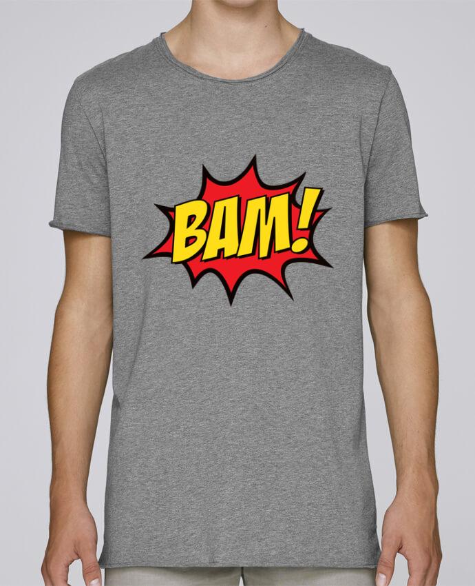T-shirt Homme Oversized Stanley Skates BAM ! par Freeyourshirt.com