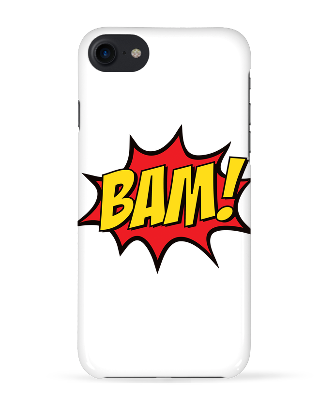Coque 3D Iphone 7 BAM ! de Freeyourshirt.com