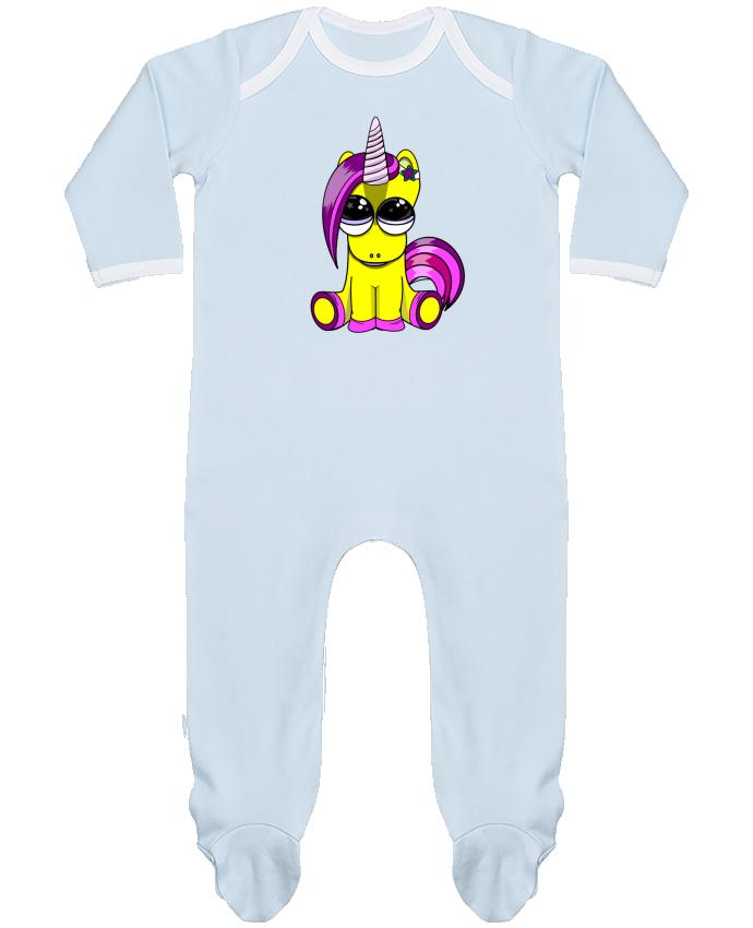 Pyjama Bébé Manches Longues Contrasté bébé licorne par markageurbain