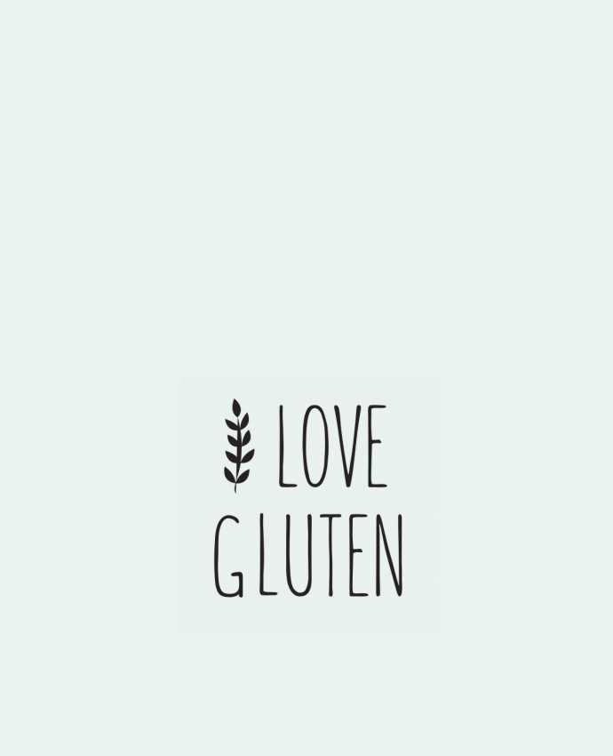 Sac en Toile Coton I love gluten by Ruuud par Ruuud