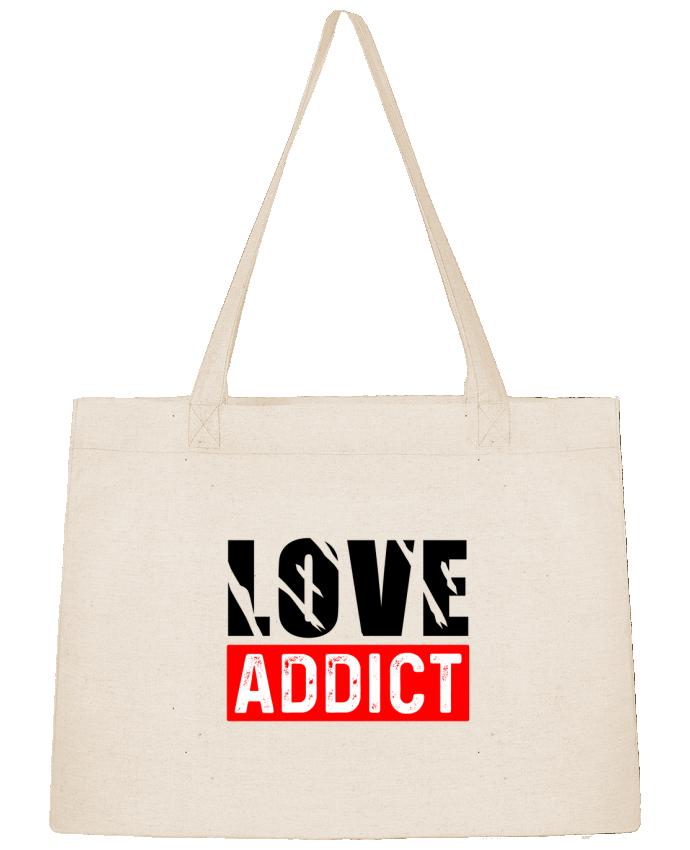 Sac Shopping Love Addict par sole-tshirt