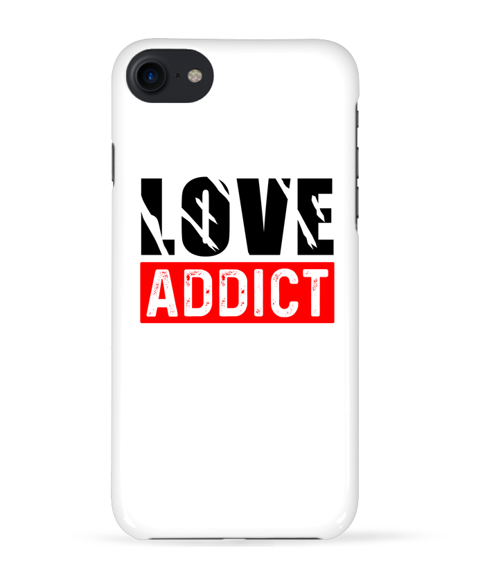 Coque 3D Iphone 7 Love Addict de sole-tshirt