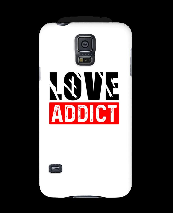 Coque 3D Samsung Galaxy S5 Love Addict par sole-tshirt