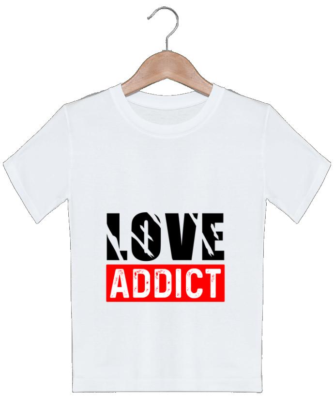 T-shirt garçon motif Love Addict sole-tshirt