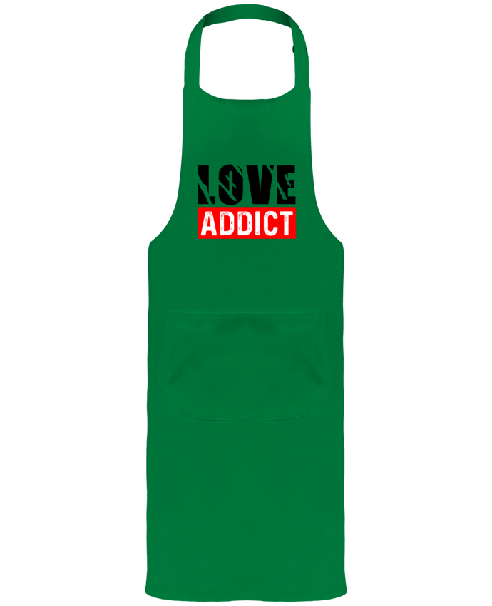 Tablier avec poches Love Addict par sole-tshirt