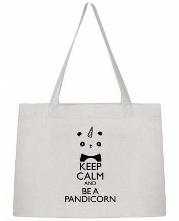 Sac Cabas Shopping Stanley Stella keep calm and be a Pandicorn par tunetoo