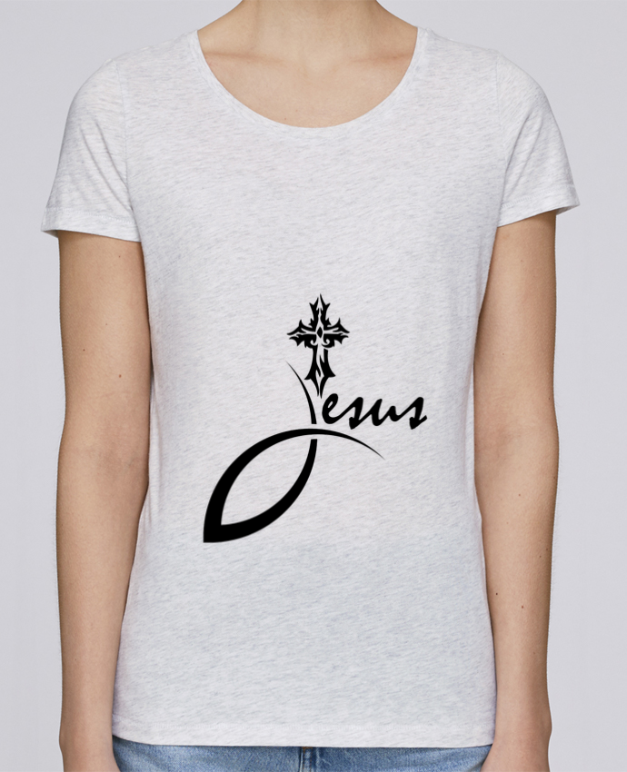 Tribal Loves T Sole Tshirt Jésus shirt Croix Femme Stella par fFxP1qU