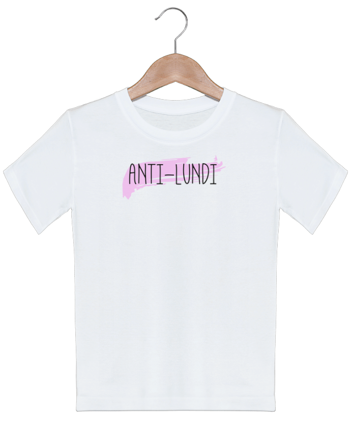 T-shirt garçon motif Anti-lundi tunetoo