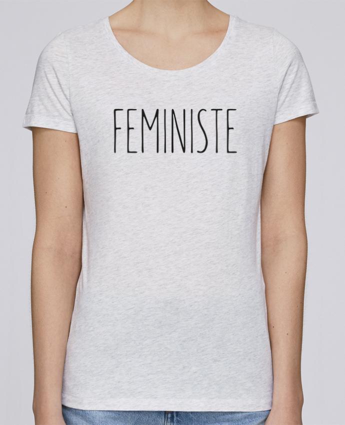 T-shirt Femme Stella Loves Feministe par tunetoo