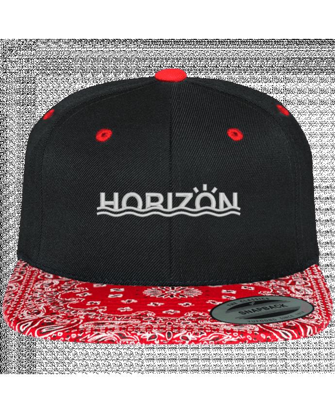 Casquette Snapback Motif Horizon par tunetoo