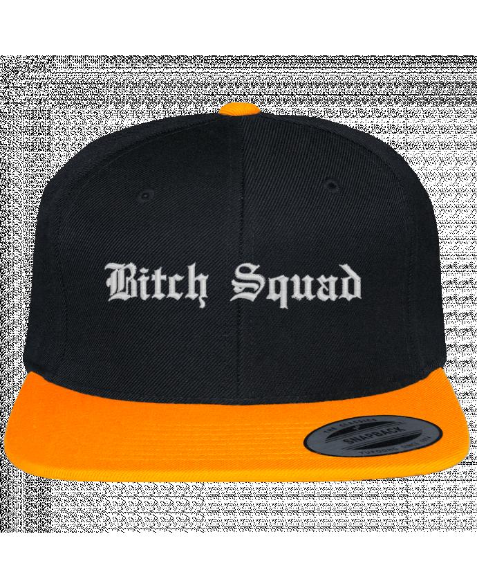 Casquette Snapback Bicolore Varsity bicolore Bitch Squad par tunetoo