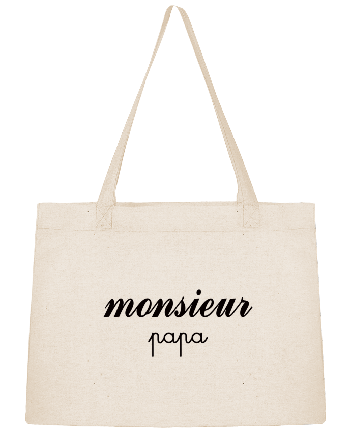 Sac Shopping Monsieur Papa par Freeyourshirt.com