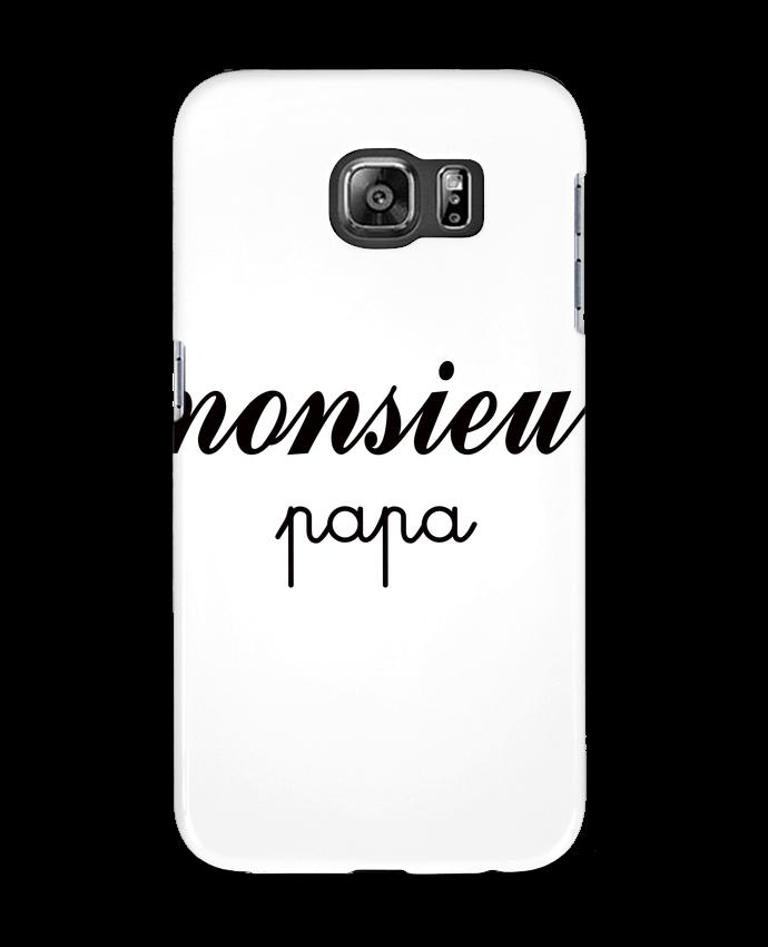 Coque 3D Samsung Galaxy S6 Monsieur Papa - Freeyourshirt.com