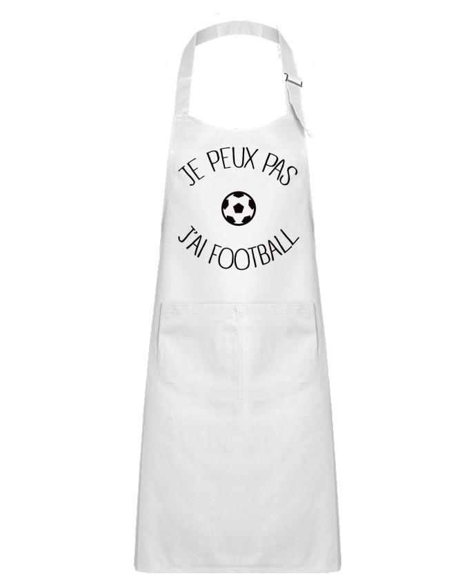 Tablier Enfant avec Poche Je peux pas j'ai Football par Freeyourshirt.com