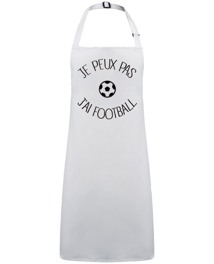 Tablier Sans Poche Je peux pas j'ai Football par  Freeyourshirt.com