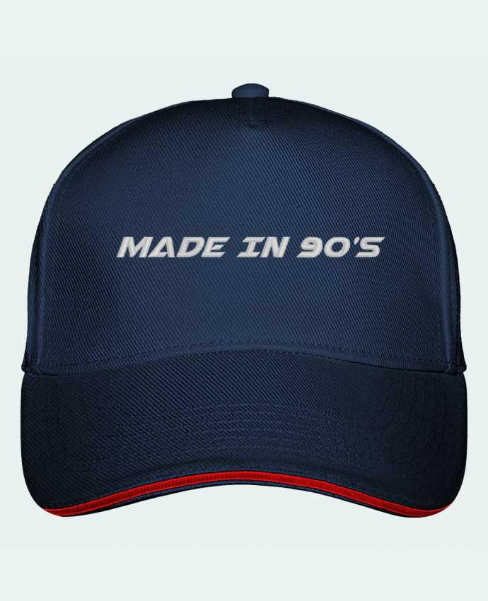 Casquette 5 panneaux Ultimate Made in 90s par tunetoo