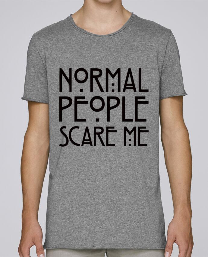 T-shirt Homme Oversized Stanley Skates Normal People Scare Me par Freeyourshirt.com