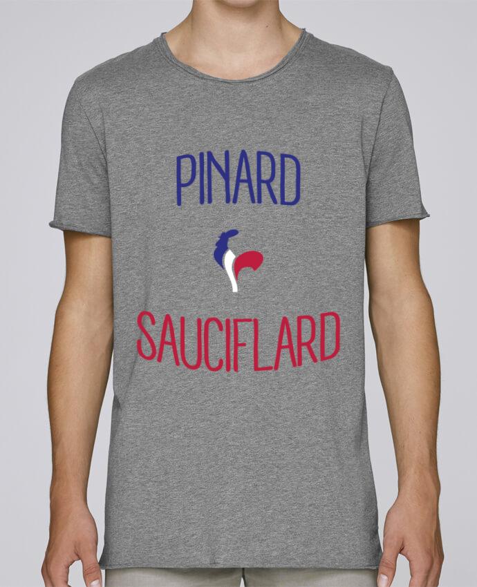 T-shirt Homme Oversized Stanley Skates Pinard Sauciflard par Freeyourshirt.com