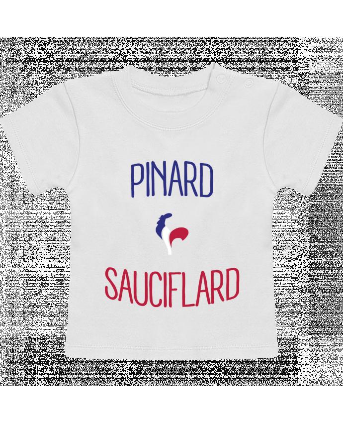 T-Shirt Bébé Manches Courtes Pinard Sauciflard manches courtes du designer Freeyourshirt.com