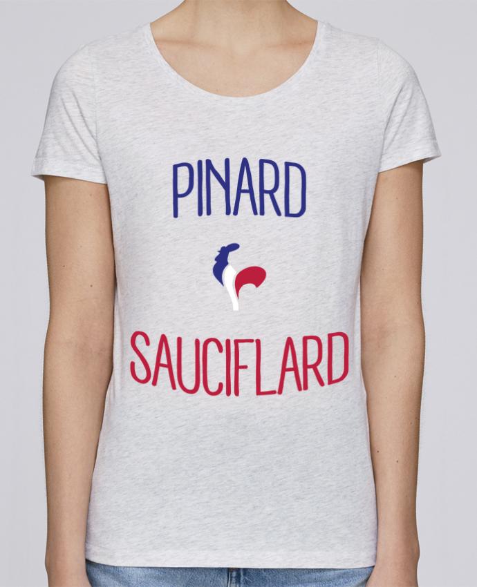 T-shirt Femme Stella Loves Pinard Sauciflard par Freeyourshirt.com